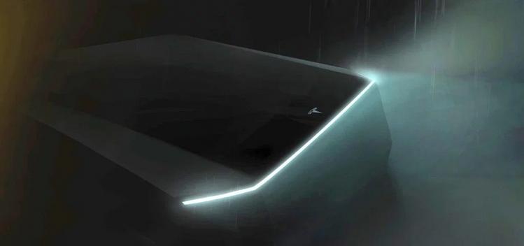 Tesla Pickup Teaser Photo