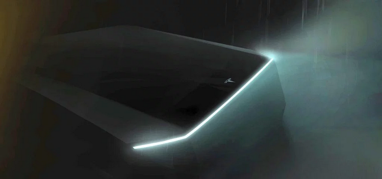 Tesla Pickup Teaser Photo