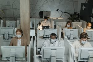 Busy Call Centre